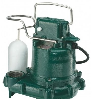 A Picture of a Zoeller Sump Pump.